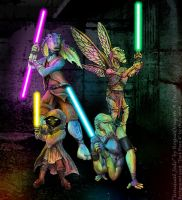 Some Unusual Jedi by RogueDragon