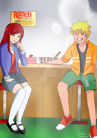CM : Naruto and Erza by TrainerAshandRed35