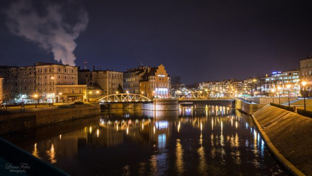 Wroclaw - riverscape by LunaFeles