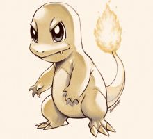 Pokemon 04 Charmander 005 Charmeleon 006 Charizard by JuanitoMedina