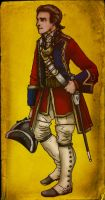 Major Heyward 60th Rifles by GeneralVyse