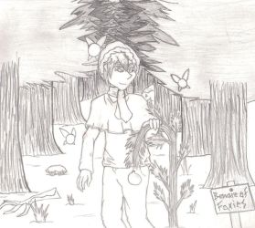 SS: Walk in the Forest by Dragonsflame2000