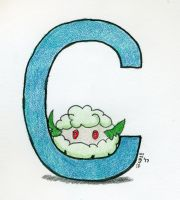 C is for Cottonee