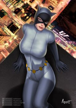 Catwoman - Batman The Animated Series by Ashnaut