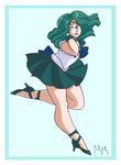 Sailor Neptune by malicemuffin