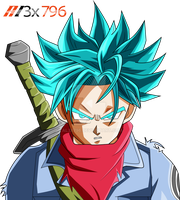 Trunks ssj blue palette 2 by AL3X796