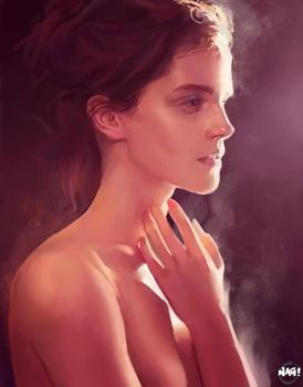 Emma Watson by Paganflow