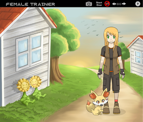 Trainer Amy would like to Battle! (Trainer Form) by Talongrasp