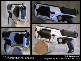 'M-5 Strongarm' Nerf Strongarm optical mod by firehawkcrafts