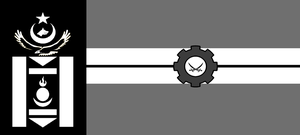 Flag of the Iron Khanate by wolfmoon25