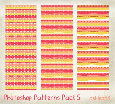 PS Patterns Pack 5 by ashzstock