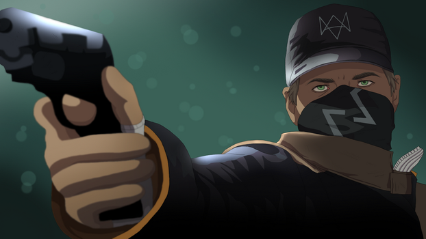 Aiden Pearce by Second-Fate