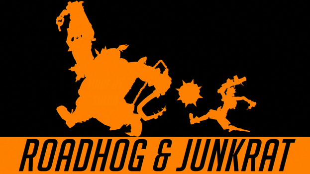 Roadhog and Junkrat by suijingames