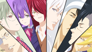 Elite Ten Council - Shokugeki No Soma by shibuyawarrior