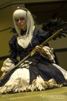 Rozen Maiden - Suigintou 3 by Rose-Pastel