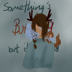 Something's Burning by GhostQueen-CHB