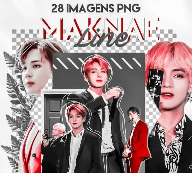 BTS 28 || Pack Png // Maknae line by iKoci