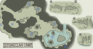 StoneClan Camp by freezy-rat