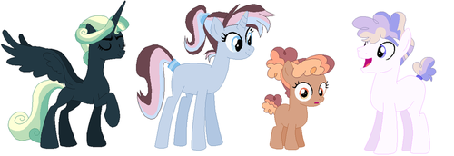 Recolor Adoptables #2 by ficklepickle9421