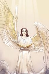 Angel of Knowledge by Elveo