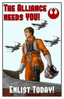 Star Wars ~ Rebel Alliance  Propaganda by Harpokrates