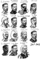 A Collection Of Sad Dads by darkwolfreturns