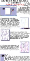 Tutorial: Lazy in ShiPainter by yomigaere