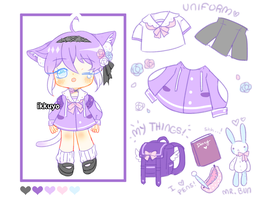 Ume Kitty Adopt Auction (Closed) by ikkuyo