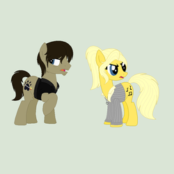 Daryl and Beth Ponies by Jess4horses
