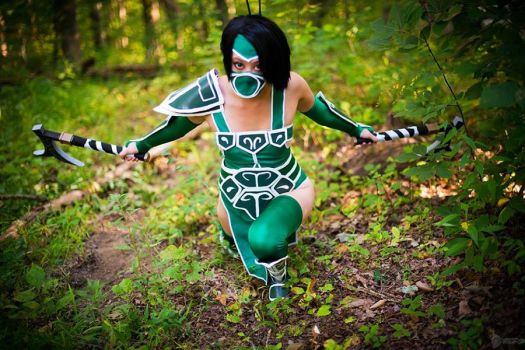 LoL: Akali 002 by chinasaur
