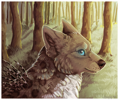 forest dweller by lilyote