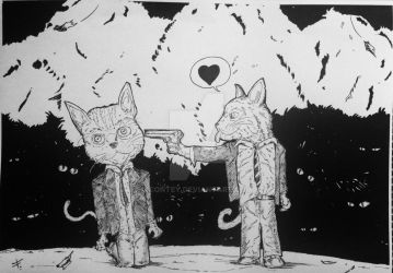Cat's Love by contey