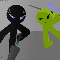 Umbrella Vs FLLFFL   * fan draw * by Virtue-Of-The-Stars