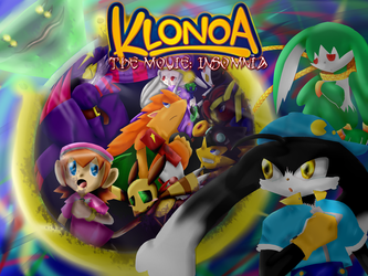 Klonoa Cover re-design with title by Shadowgirl57