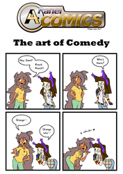 A4 Panel Comics_[s2]_The art of Comedy by A4ArtStuff