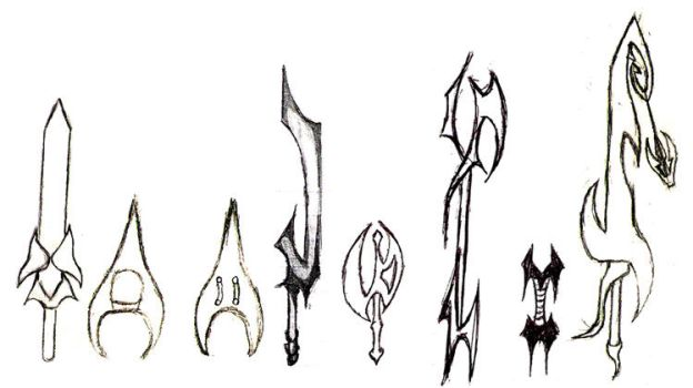 Weapon Set 2 by the14thgod