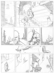 Rush Hunters page 2 by PatBoutin
