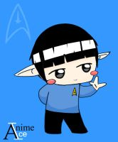 Spock by AnimeIce