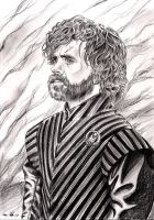 Peter Dinklage as Tyrion Lannister by emalterre