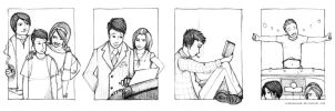 Perks of Being a Wallflower - 1, 2, 3, 4 by leabharlann