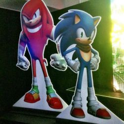 sonic and knuckles designs for sonic boom by InmaLaEriza-Lovely