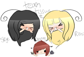 teaM TISSUE by xDeliciousDemise