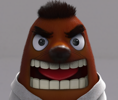 Zbrush Doodle Day 896 - Mr Sonny Resetti by UnexpectedToy