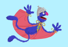 Super Grover by GantzAistar