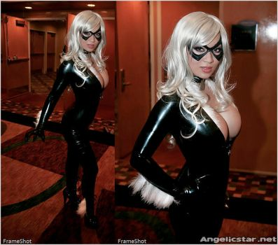 Black Cat out and about by yayacosplay
