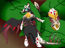 Spiny Orb Weaver Dutchie Auction by Darumemay