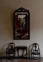 Through the empty mirror by analogdude