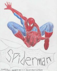 Spiderman Request by SparrowsFlame