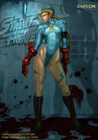 Cammy Street Fighter by ACWart
