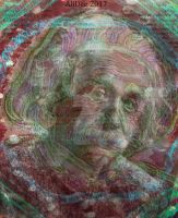 Psychedelic Einstein by AliDee33